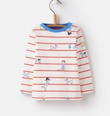 Joules Joules Harbour Sea Dog Print Jersey Top
