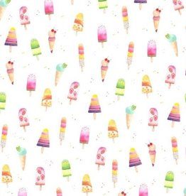Loulou Lollipop Loulou Lollipop Ice Cream Luxe Muslin Swaddle