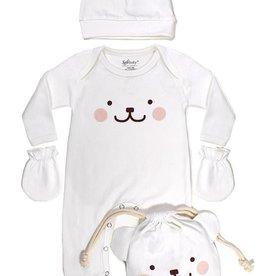 Soft Baby Soft Baby Organic Be-a-Bear Giftset