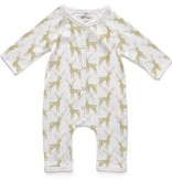 Soft Baby Soft Baby Organic Deer Long Romper