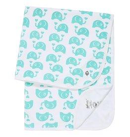 Soft Baby Soft Baby Organic Elephant Blanket