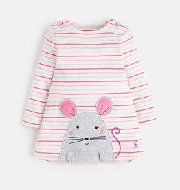 Joules Joules Mouse Applique Dress