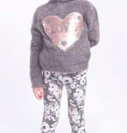 Imoga Imoga Dallas Heart Sweater