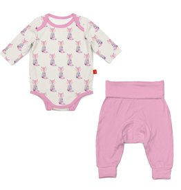 Magnificent Baby Magnificent Baby Cool as Fox Modal Bodysuit and Pants Set