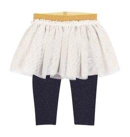 Petit Bateau Petit Bateau Leggings with Tulle Skirt