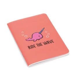 JellyCat Jelly Cat Seas The Day Coral Notepad Mini