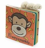 JellyCat Jelly Cat if I were a Monkey Book