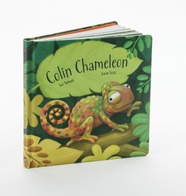 JellyCat Jelly Cat Colin Chameleon Book