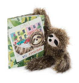 JellyCat Jelly Cat Cyril's Big Adventure Book