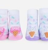 Waddle Waddle Ice Cream Rattle Socks