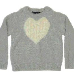 tooby doo Tooby Doo Heart Mohair Sweater
