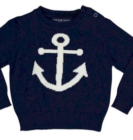 tooby doo Tooby Doo Baby Anchor Sweater