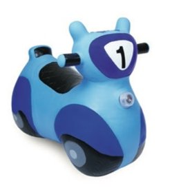 Waddle Waddle Blue Scooter Bouncy Animal