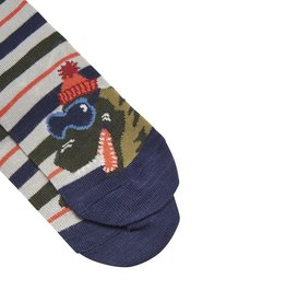 Joules Joules Dinosaur Striped Socks