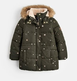 Joules Joules Night Sky Star Jacket with Hood