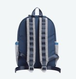 State State Kane Backpack- Navy/Heather Gray
