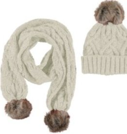 Mayoral Mayoral Hat and Scarf Set