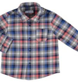 Mayoral Mayoral Long Sleeve Checked Shirt *more colors*
