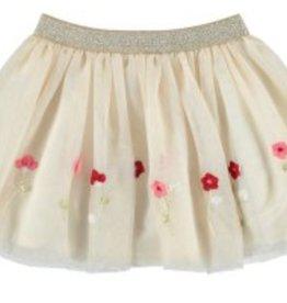 Mayoral Mayoral Border Tulle Skirt