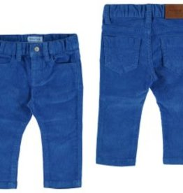 Mayoral Mayoral Basic Slim Fit Cord Trousers *more colors*