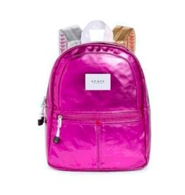 State State Mini Kane Backpack- Hot Pink with Gold & Silver Straps
