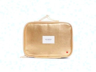 State State Rodgers Lunch Box- Gold