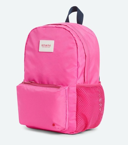 State State Pink Lawrence Backpack