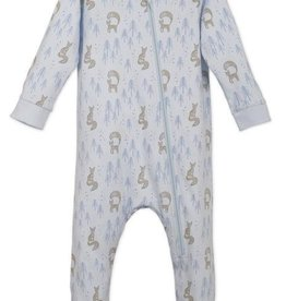 Feather Baby Feather Baby Foxy Zipper Footie