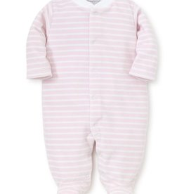 kissy kissy Kissy Kissy Beloved Bears Velour Stripe Footie *more colors*