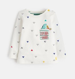 Joules Joules Dino Pocket Top