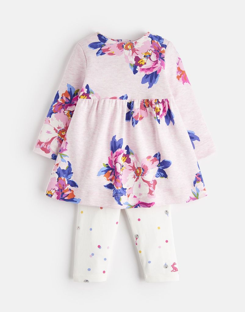Joules Joules Christina Pink Dress and Legging Set
