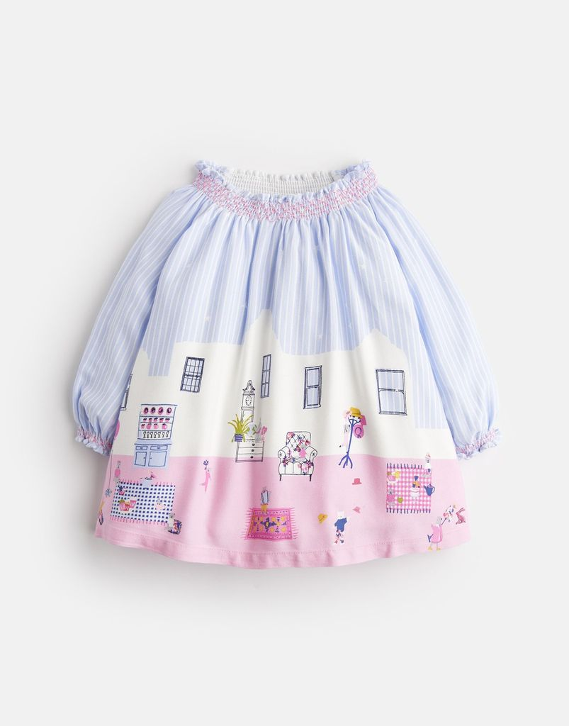 Joules Joules Elsie Woven Smock Dress
