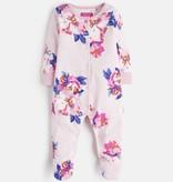 Joules Joules Floral Print Babygrow Footie