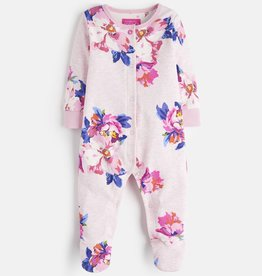 Joules Joules Floral Print Babygrow Footie