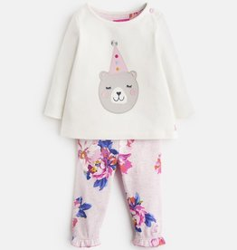 Joules Joules Poppy Long Sleeve Top and Legging Set