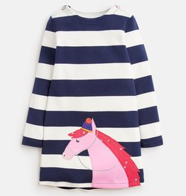 Joules Joules Kaye Horse Applique Dress