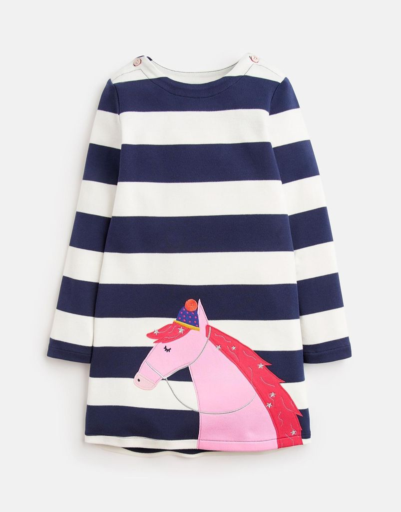 Joules Joules Kaye Horse Applique Dress