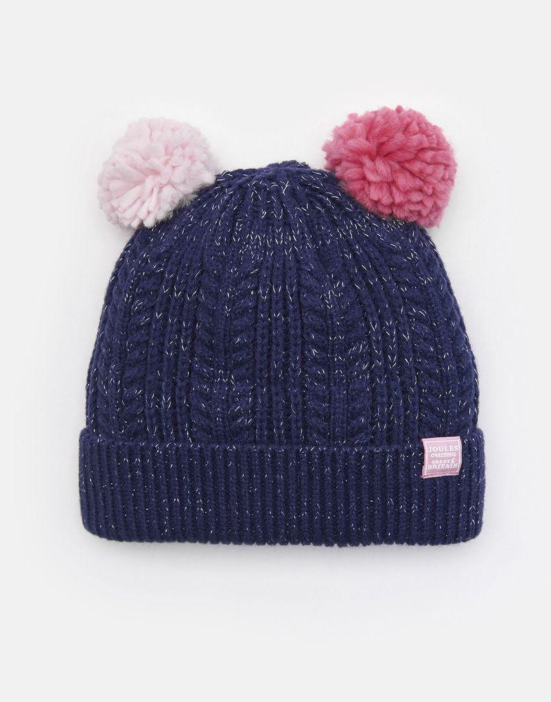 Joules Joules Ailsa Double Pom Hat