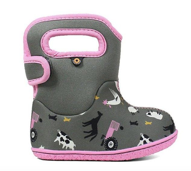 bogs Bogs Baby Classic Waterproof Boot - Farm