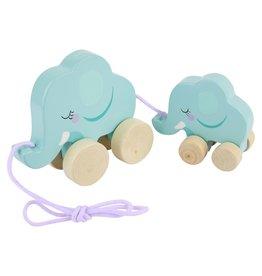 Sunny Life Sunny Life Push N Pull Elephant Toy