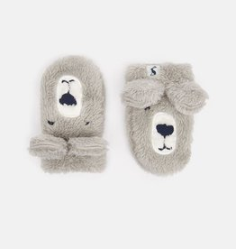 Joules Joules Snuggle Fluffy Character Mittens