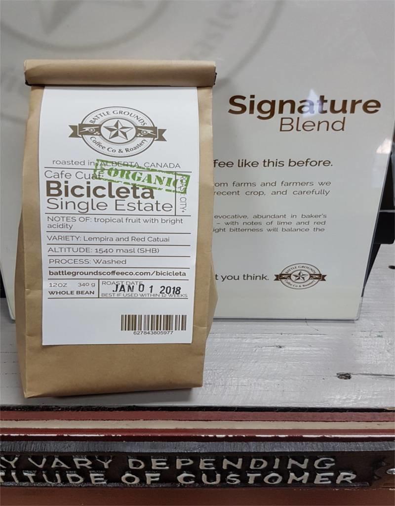 12oz BGC Organic Cual Bicicleta Bean