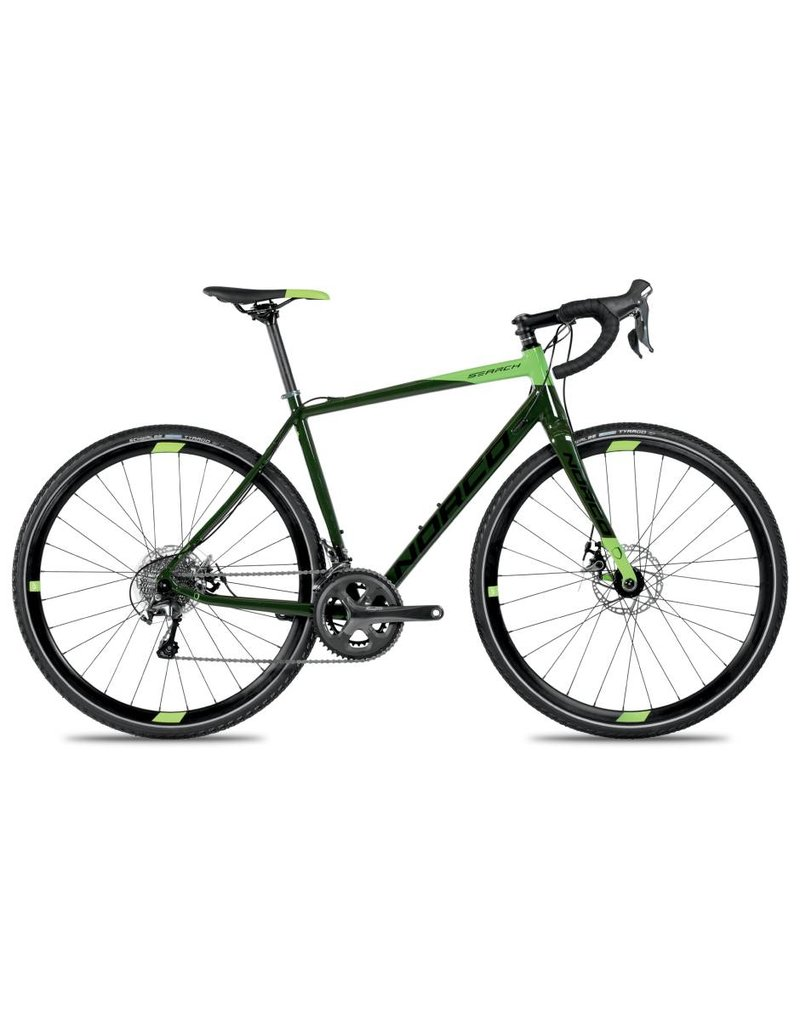 Norco SEARCH A TIAGRA 55.5 DK GRN/LM DARK GREEN/LIME