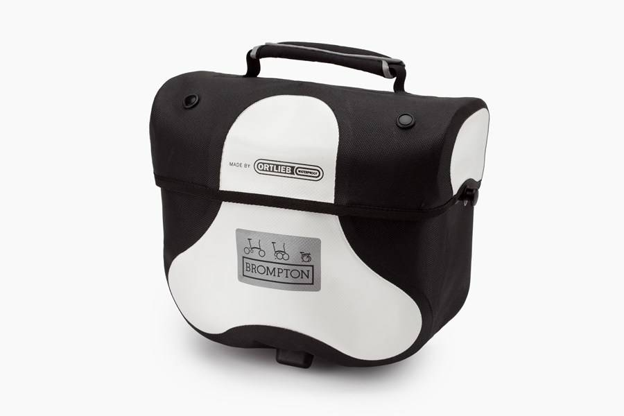 Ortlieb Brompton Ortlieb Mini O Bag, White/Black