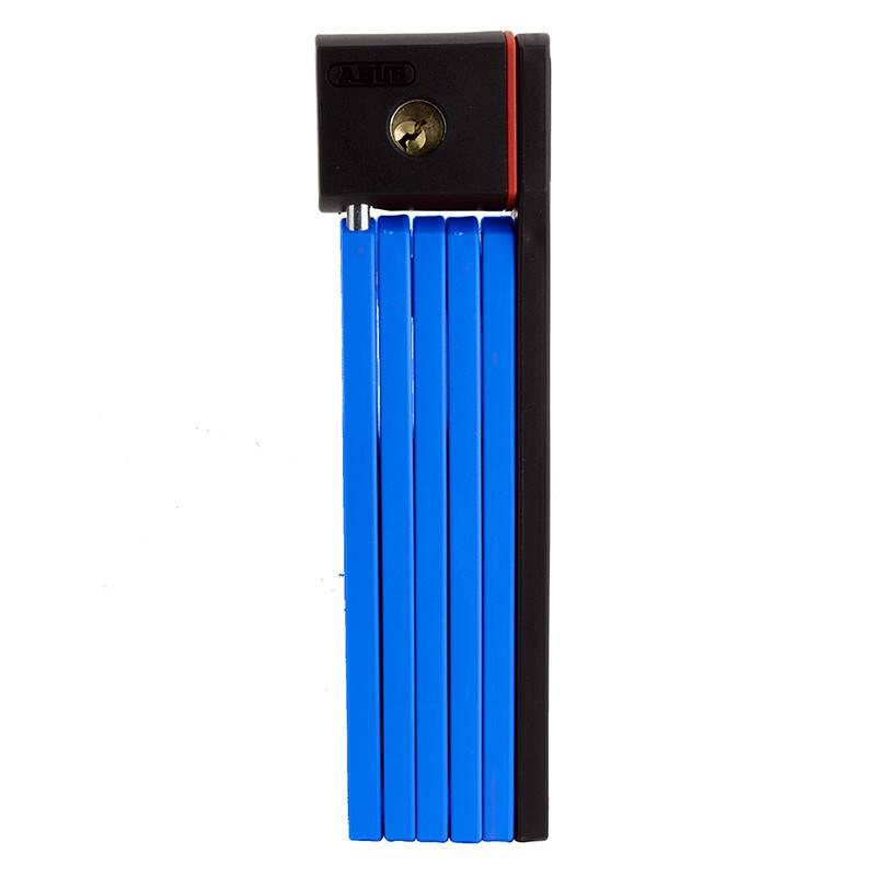 Abus ABUS Bordo UGrip 5700 Keyed Folding Lock, 80cm, Blue