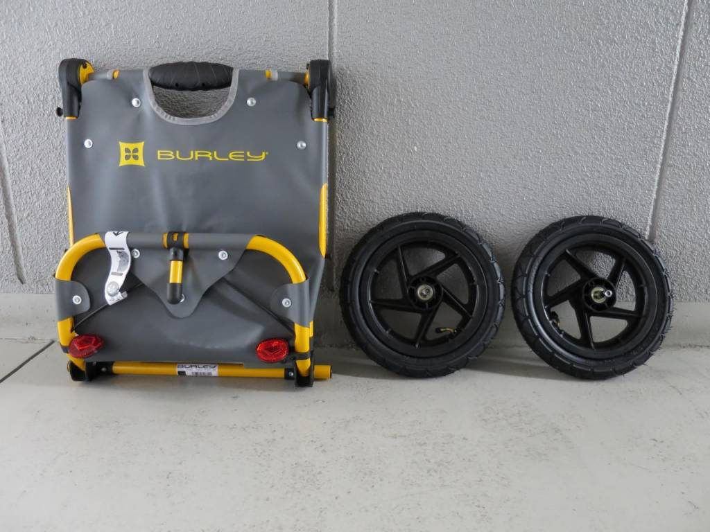 Burley Burley Travoy Urban Trailer System: Yellow