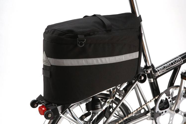 Radical Designs Brompton Racksack for rear carrier, comes with strap