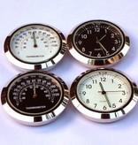 StemCaptain Stem Captain Headset Cap Clock, White Dial/Black Case