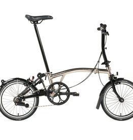 Brompton Brompton Nickel Edition S6L Black