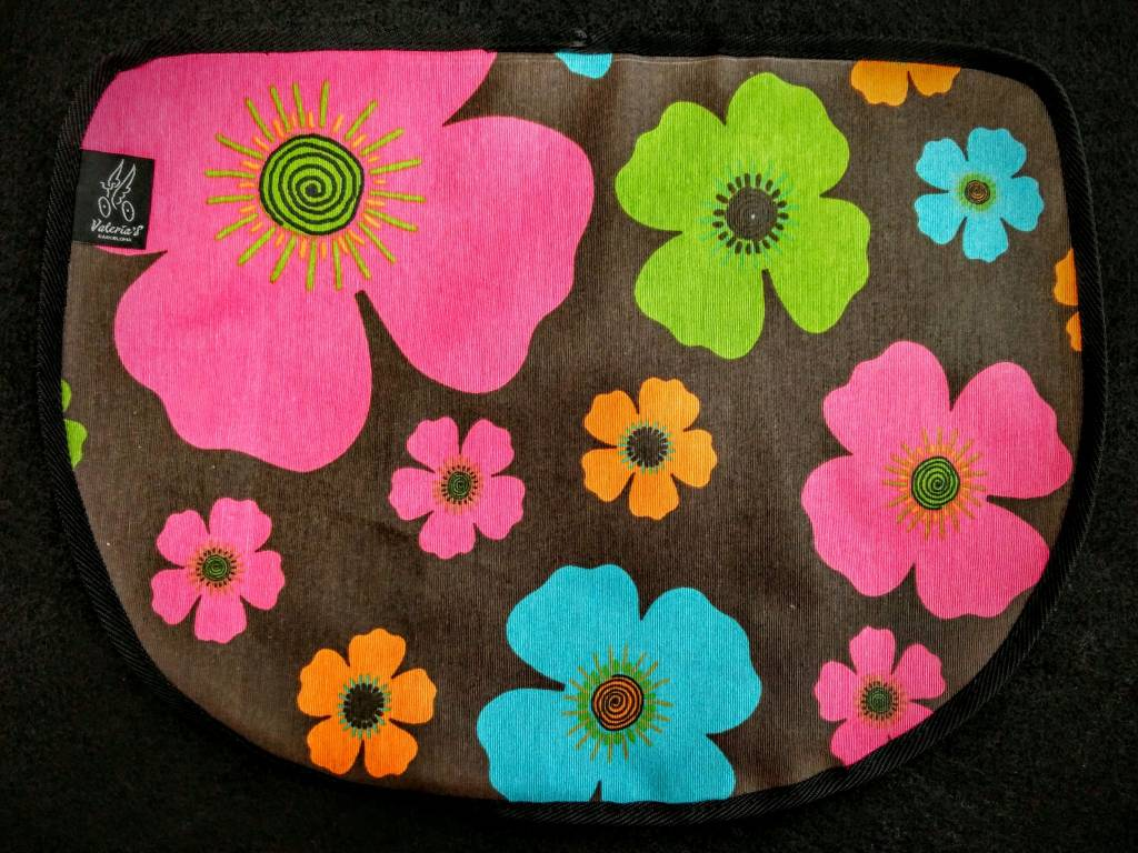 Valeria's Bike Accessories Valeria's S-Bag Flap - Flowers